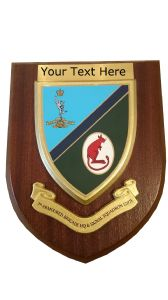 7 Armoured Brigade 207 HQ Signal Personalised Military Wall Plaque